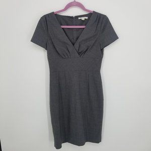 Banana Republic Gray Stretch Wool Sheath Dress 2